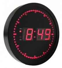 digital office wall clocks. unique wall ehealthsource big digital led wall clock with circling second indicator   round shape  10 intended office clocks w