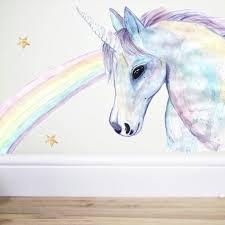 cute unicorn wall decor
