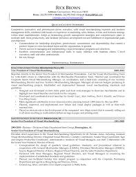 Ideas Collection Visual Merchandiser Manager Cover Letter Sample