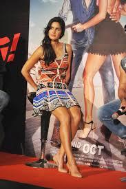 Katrina Kaif Showcasing Her Toned Sexy Legs At Film Bang Bang.