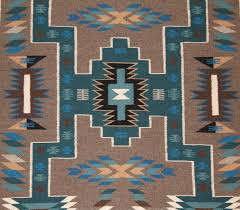 blue navajo rugs. Interesting Navajo 387contemporarystormpatternnavajorugweaving002largejpg Intended Blue Navajo Rugs