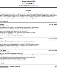 026 Mechanical Engineer Resume Templates Image Template