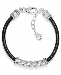 brighton jb8432 via roma leather bracelet