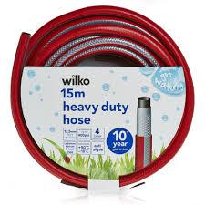 wilko garden hose heavy duty 12 5mm dia x 15m image