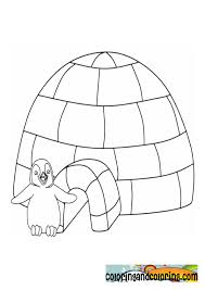 Small Picture For Kids Download Igloo Coloring Page 44 With Additional Coloring