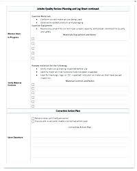 Quality Control Excel Template Quality Control Spreadsheet Template Cafegrande Co
