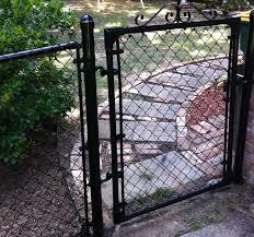 black chain link fence gate. Exellent Fence Black Coated Chain Link And Black Chain Link Fence Gate A