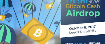A bitcoin airdrop is when a new cryptocurrency project distributes their coins to existing holders of bitcoin as a way to bootstrap liquidity and economic activity. Bitcoin Cash To Be Airdropped On Students Trustnodes