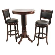 Counter Height Bistro Table Set Boraam Beau 3 Piece Counter Height Pub Table Set Bar Pub
