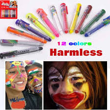 funny makeover games s make up videos colored face paint drawing toys crayon sticks pack of