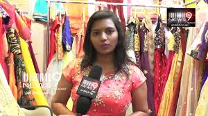 Swathi Veldandi Designer Dzine Avenue Exhibition Park Hayath Dzine Avenue Exhibition Swathi Veldandi News9 Today