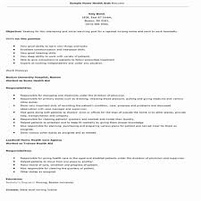 Sample Resume For Home Health Aide Home Care Aide Certification Application Example Sample Resume Home