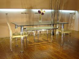living mesmerizing round acrylic dining table clear glass top modern 5 dinette set legs lovely round acrylic dining table
