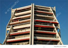 Modern Apartment Building Facade Stock Picture I At FeaturePics - Modern apartment building facade