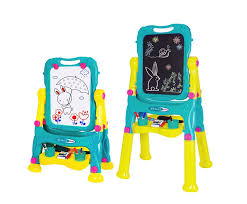 Suitable for 2 years, this is a great way to encourage your tot get creative. With one chalkboard and whiteboard, clever easel can be folded Best Toys For Two-Year-Olds: The Your Toddler Will Love