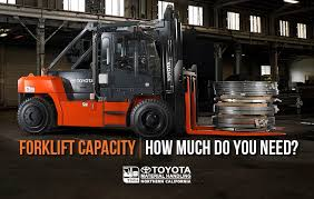 Forklift Load Chart Formula Forklift Capacity How Much Do You Need