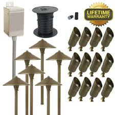 path lighting kits. 12 spot, 6 path lighting landscape kit kits mesa electricians