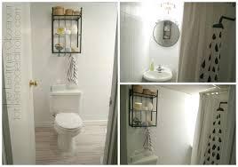 paint over bathroom tile. Remodelaholic | A $170 Bathroom Makeover With Painted Tile Paint Over