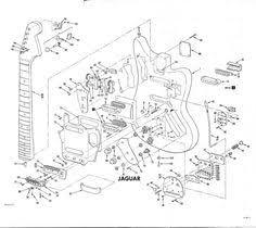 fender jaguar jazzmaster wiring diagram fenderjaguar fender jaguar exploded view