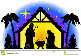 free nativity clipart silhouette. Plain Nativity Nativity Silhouette Royalty Free Illustration For Free Clipart