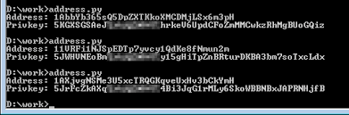 All private keys list get lucky. Bitcoin Address Generator In Obfuscated Python