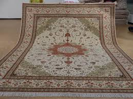9 x 12 hand knotted brand new wool and silk sino persian tabriz oriental area rug 12980632 goodluck rugs