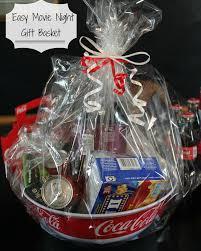 Gift Basket Wrapping Ideas Diy Movie Night Gift Basket Nightchayde