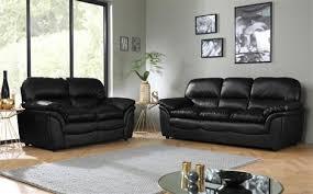 rochester black leather sofa suite 32 seater black leather sofa u48