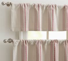 mesmerizing cream and pink short urban burcap and metal cafe curtains swing ideas