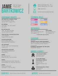 Classy Resume Template For Art Director On Creative Director Resume