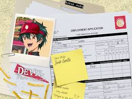 The devil goes on a date with his junior in shinjuku. Cast Announcement The Devil Is A Part Timer Final Funimation Blog