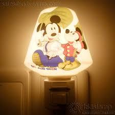 modern kids lighting. Modern Ceramic Mickey Minnie Mouse Kids Bedroom Night Lights | Kids-lamp.com Lighting