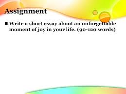 match the paragraph the proper heading a happiness is to stop 19 assignment write a short essay about an unforgettable moment of joy in your life 90 120 words