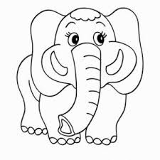 Cute Baby Elephant Coloring Pages Inspirational Elephant Elephants