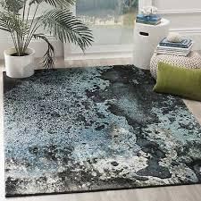 watercolor area rug. Safavieh Glacier Abstract Watercolor Blue/ Multi Area Rug - 2\u0027 7 X 5\u0027