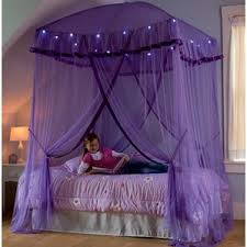 Sparkling Lights Bed Canopy