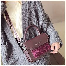 Childrens Designer Bags Pu Leather Letter Solid Crossbody Bags For Women Retro