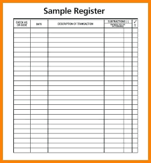 Check Ledger Free Printable Check Register With Running Balance Download Them