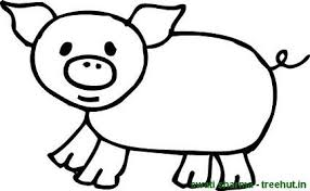 Small Picture Baby Pigs Coloring Pages