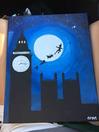 for my momma s bday peterpan canvas disney