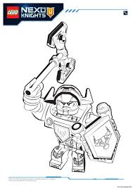 Small Picture Lego Nexo Knights Axl 1 Coloring pages Printable