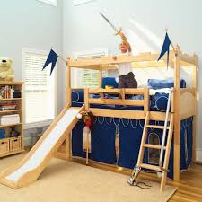 Camelot Castle Low Loft Bed With Slide Maxtrix Kids 395 In Addition To  Gorgeous Loft Bed