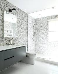 diy shower walls gray kids bathroom features grey hex tiles on the wall and they continue diy shower walls