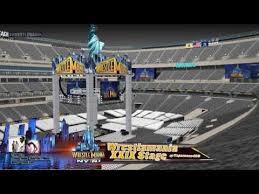 Wrestlemania Seating Chart Metlife Wrestlemania Xxix Stage Metlife Stadium Youtube