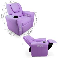 kid lounge furniture. Kids Padded PU Leather Recliner Chair Kid Lounge Furniture