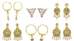 Kalyan Jewellery Designs Catalogue With Price Kalyan Jewellers Earrings Collections