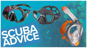 How To Choose A <b>Scuba Diving Mask</b> Or Snorkelling Mask - YouTube