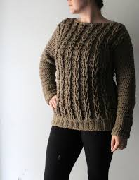 Make Your Own Sweater Design Your First Crochet Cable Sweater Project Crochet Cable