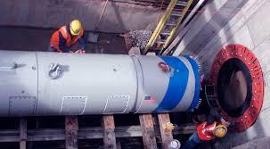 microtunneling. forajul prin metoda percuției se poate executa în aproape orice fel de teren. microtunneling