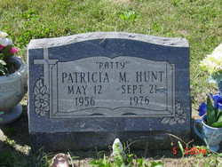 "Patricia M ""Patty"" Hunt (1956-1976) - Find A Grave Memorial"